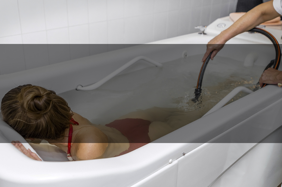 Подводный массаж и похудение
